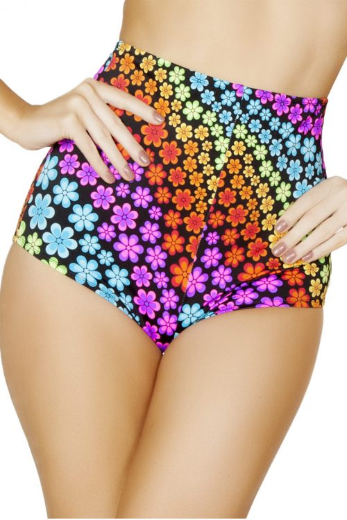 Daisy High-Waisted Pinup Style Shorts