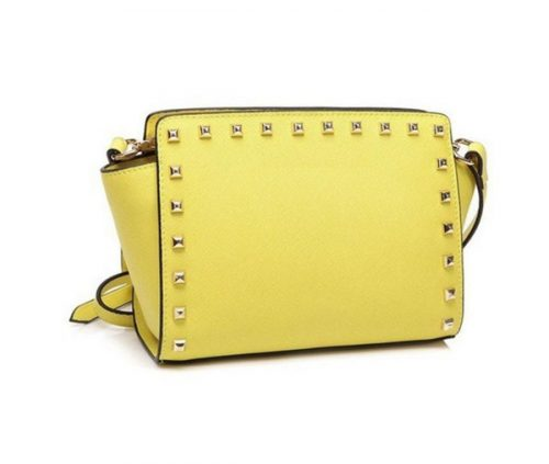 Europe and America brand women's handbag Fashion women messenger bag rivet single shoulder bag High quality female bag
