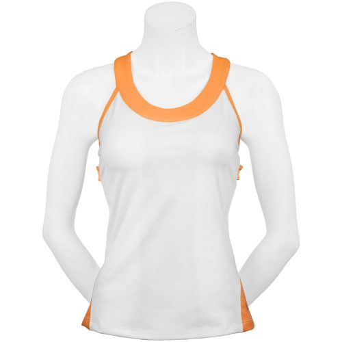Fila Citrus Bright Racerback Tank: Fila Women's Tennis Apparel