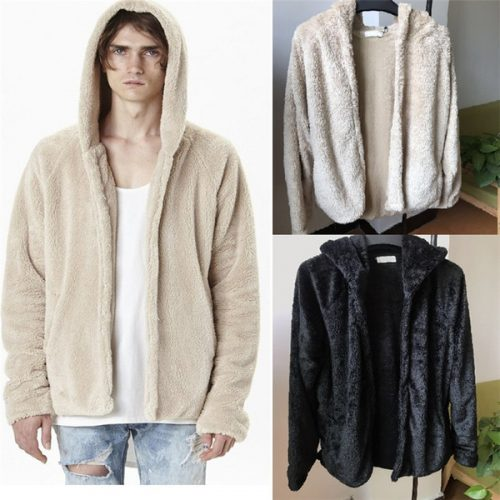 Mens Jacket Hooded Designer Jacket Windbreaker Men Women Streetwear Open Stitch Cashmere Blend Long Sleeve Split Autumn Winter Fashion