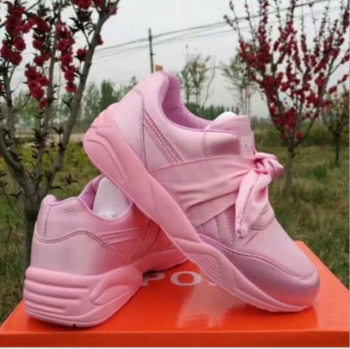 NEW BASKET CREEPERS GLO RIHANNA SNEAKERS CASUAL WOMEN 'S SPORTS RUNNING JOGGING SHOES WOMENS FASHION CLASSIC Brand SHOES 36-40
