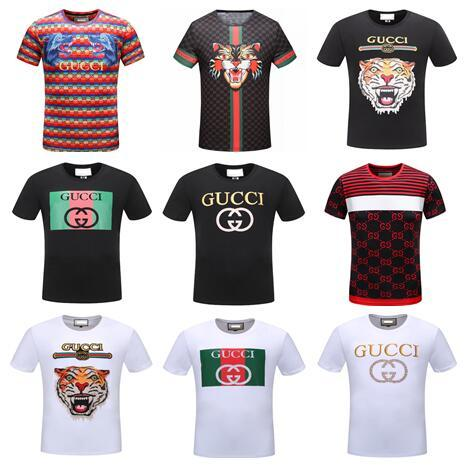 New Fashion women and men T-Shirts Casual Short Sleeve summer Cotton Printed brand Unisex Tee tops shirt G42445