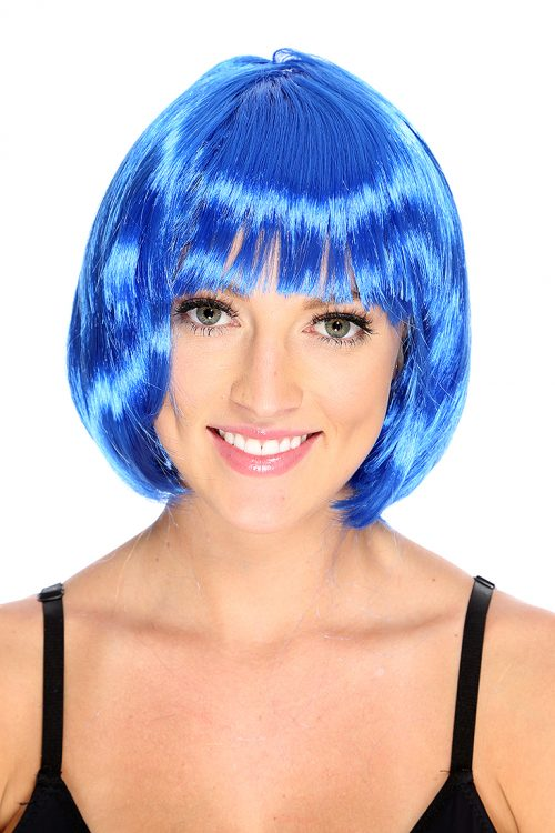 Royal Blue Short Bob Wig