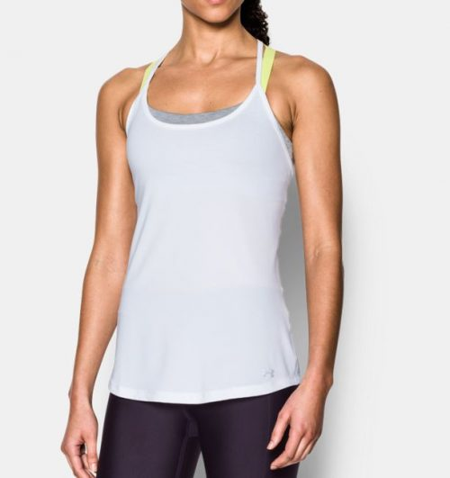 Under Armour Fly-By Racerback Tank: Under Armour Women's Running Apparel