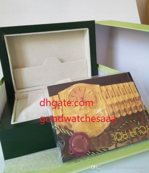 Free Shipping Green Brand Watch Original Box Papers Card Purse Gift Boxes Handbag 185mm*134mm*84mm 116610 116660 116710 118239 116500