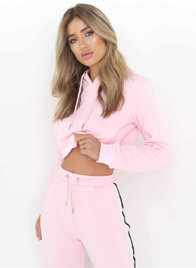 Hooded 2 Piece Sweat Suit