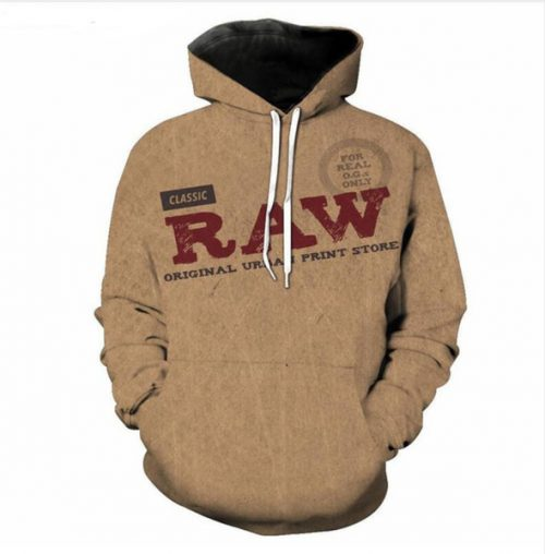 New Fashion Women/Men Couples Classic RAW All Over Funny 3d print Hoodies Hoody Long Sleeve Hooded Sweatshirts Jacket Pullover Top LMS0112