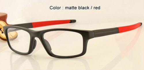 top fashion brand designer men women black smoke gray sunglasses frames optical sports eyeglasses frame top quality 8037 in box case