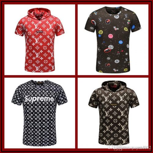 18ss Luxury Men's Designer Shirt Fashion Luxury Brand Medusa T Shirts Mens Casual Cotton Polos With Embroidery Snake Applique Size M-3X