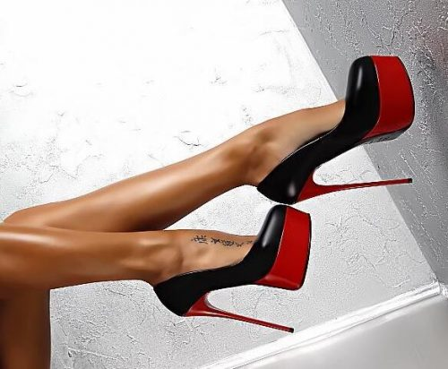 Brand Women Pumps Fashion Pu leather Shallow mouth Stiletto shoes Extreme High Heels 15cm Sexy Prom Wedding Shoes Round toe Platforms Pumps