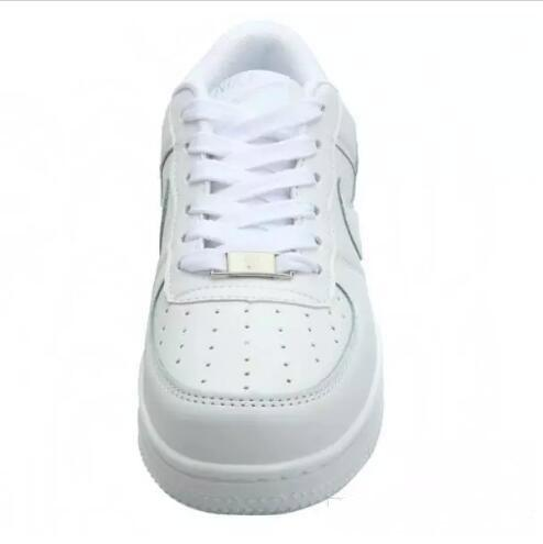 Hot sell Size 36-44 2018 upgraded version New All White Shoes Men and Women Fashionable Casual Shoes