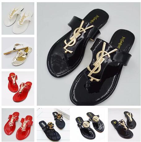 New Fashion Women's Flats Casual sandals Beach slippers Shoes Brand Ladies Sandals flip-flops G796