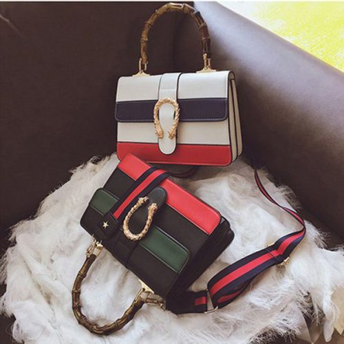New Women Messenger Bag Women Designer Handbag Shoulder Bag Cross Body Bag Tote Bags with Bamboo Handle Fashion High Quality